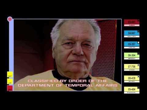 Gary Lockwood As Captain Gary Mitchell. Star Trek Equinox