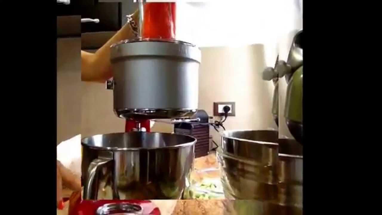 Food Processor Accessorio Kitchenaid Tagliamo La