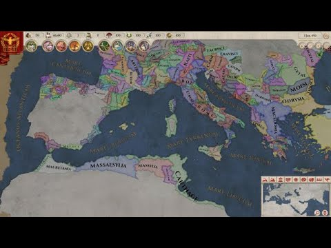 Imperator: Rome has the makings of a gorgeous, accessible grand strategy saga