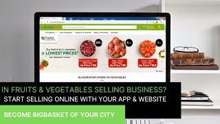 Sell Fruits & Vegetables Online | Build vegetable selling app and website