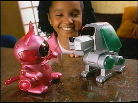 tiger electronics mio pup robotic dog instructions