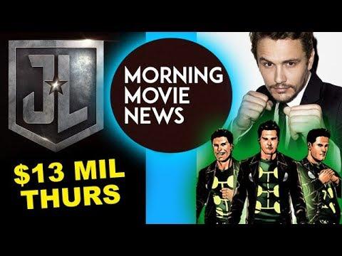 Justice League Thursday Box Office, James Franco is Multiple Man for Fox