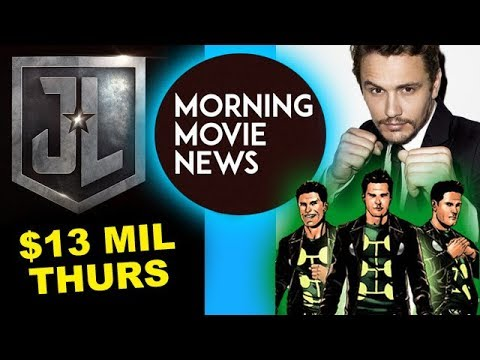 Download Youtube: Justice League Thursday Box Office, James Franco is Multiple Man for Fox