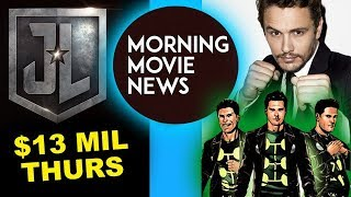 Justice League Thursday Box Office, James Franco is Multiple Man for Fox