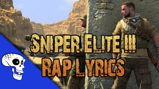 "Sniper Elite 3 Rap LYRIC VIDEO by JT Machinima - ""See Right Through You"""
