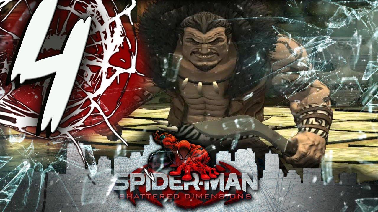 spider-man shattered dimensions - part 4 kraven death battle - youtube