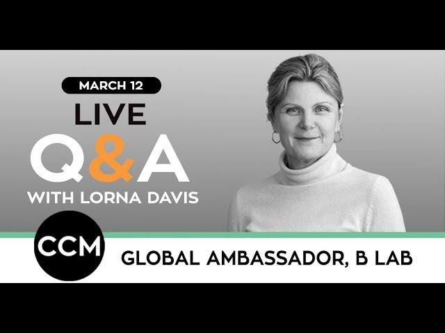 LIVE Q&As | Lorna Davis