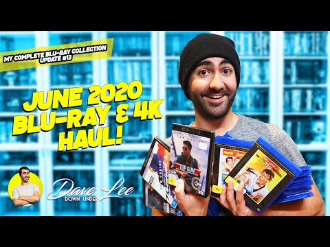 BLU-RAY & 4K Haul Collection Update - June 2020