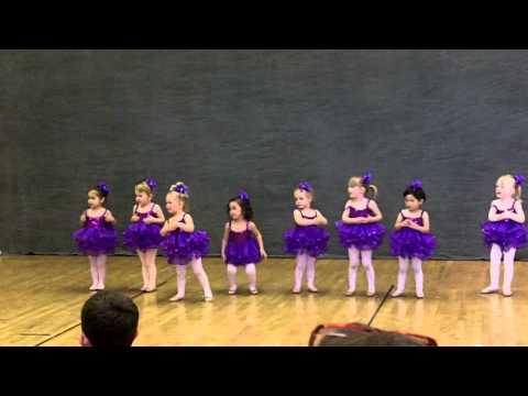 Sofia Dancing to Baby Beluga (Toddler Ballet)