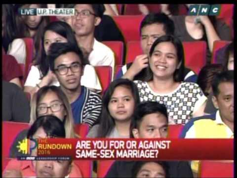 Homosexual marriage debate progress