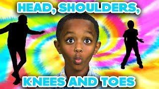 Head Shoulders Knees and Toes | Songs for Kids | Dancing Kids | Family Friendly Songs