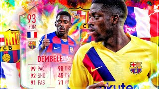 FIFA 20 : DEMBELE 93 SUMMER HEAT SQUAD BUILDER BATTLE !! ☠️☠️☠️