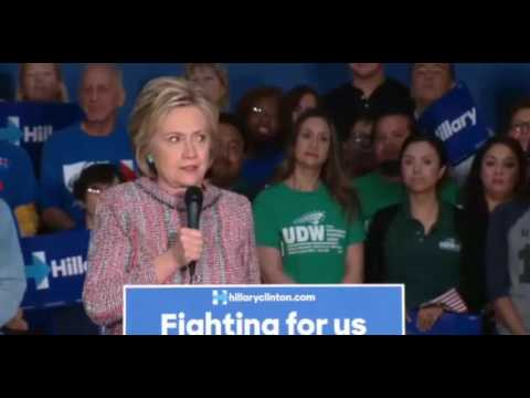 Hillary Clinton Rally in Buena Park With Jamie Lee Curtis FULL Speech