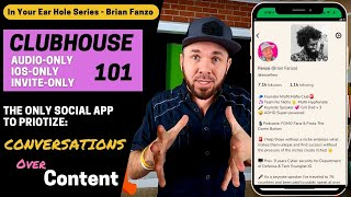 Clubhouse 101: The Only Social App Prioritizing Conversations Over Content