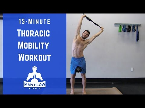 15 Minute Thoracic Mobility Workout [Members\' Area Mondays]