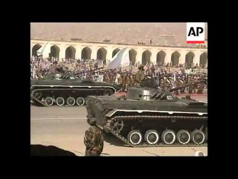 Recent Footage Of Taliban Displaying Military Hardware