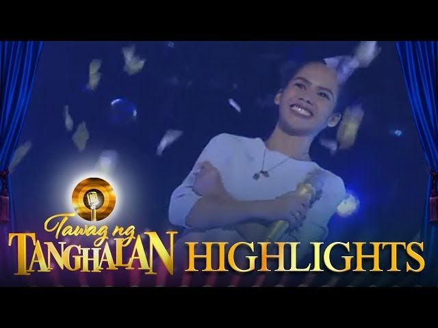 Tawag ng Tanghalan: Windimie Yntong wins the golden microphone again!