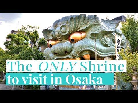 Visit this SECRET Shrine in Osaka most tourists miss!