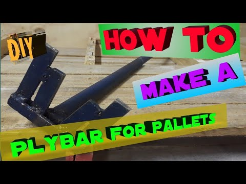 How to build a DIY Pallet plybar wood Remover