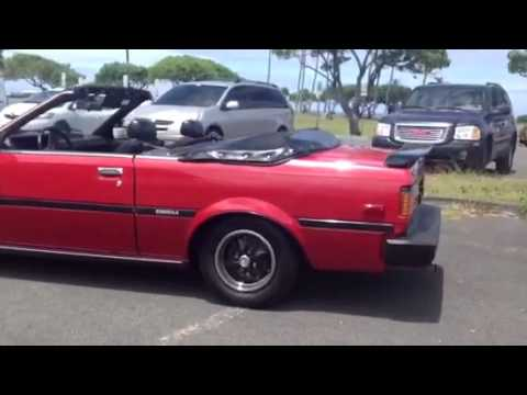 part 1 1982 toyota corolla convertible griffith limited e youtube. Black Bedroom Furniture Sets. Home Design Ideas