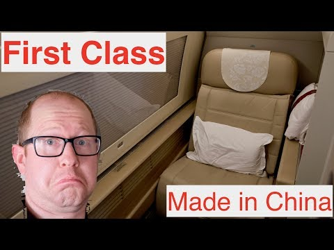 China Eastern FIRST CLASS Review – San Francisco To Shanghai PVG – Boeing 777-300ER