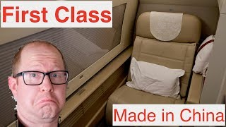 First Class: Made in China. China Eastern Review – San Francisco to Shanghai PVG – Boeing 777-300ER
