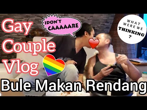 Live : Gay Couple Vlog Paris - Setrika Baju - Makan Malam Bersama Suami Bule