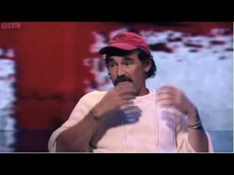 """Mark Rylance talking about """"Jerusalem"""", on Newsnight, 29/09/11"""