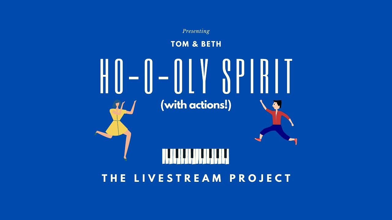 Ho-o-oly Spirit // The Live Stream Project - YouTube