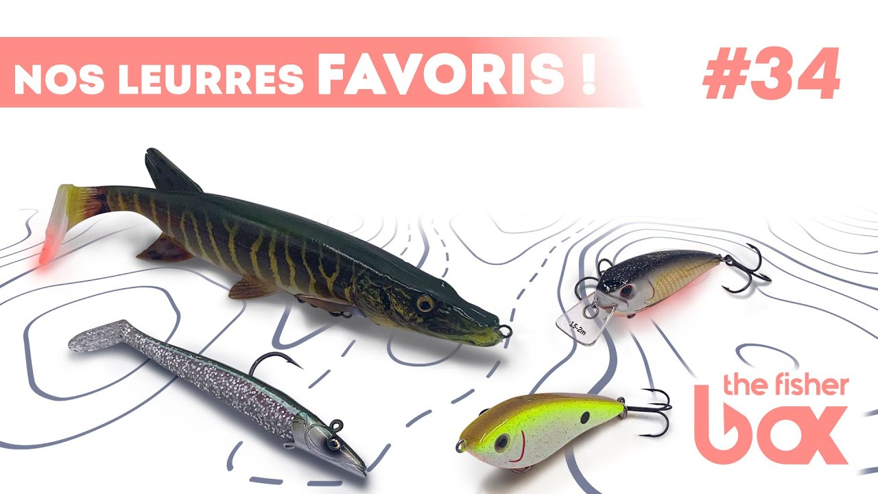 FISHERBOX #34 - Nos 4 leurres favoris ( Westin / Savage gear / Gunki )