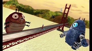 Monsters Vs Aliens - Ch 2. SLEEPING IN - Part 11 [Xbox 360]