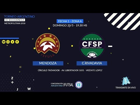 Mendoza vs. Comodoro Rivadavia - FECHA 1 - ZONA A