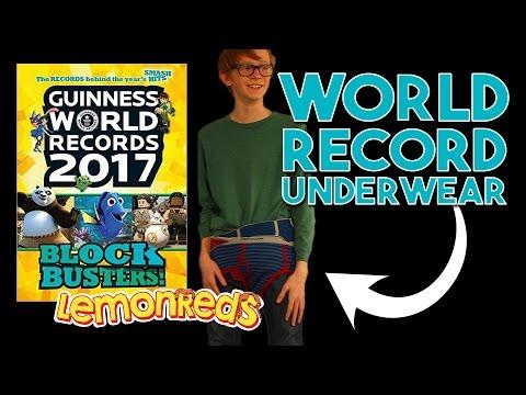 Did we break the Guinness World Records UNDERWEAR CHALLENGE? |LemonReds Episode 44| #worldrecords