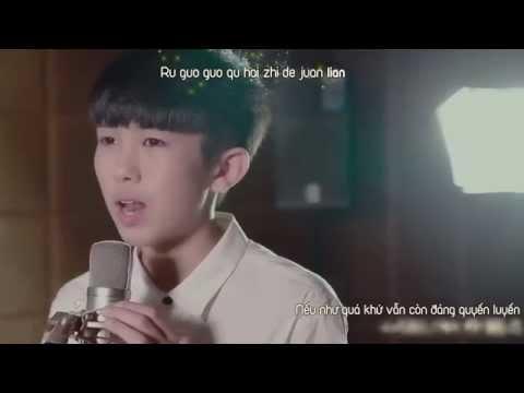 [Vietsub + kara] Năm Tháng Vội Vã 匆匆那年 - TF gia tộc Hoàng Kỳ Lâm TF家族黄其林