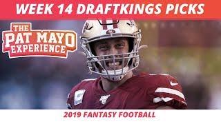 2019 Fantasy Football Rankings — NFL Week 14 DraftKings Picks, Predictions, Preview, Sleepers