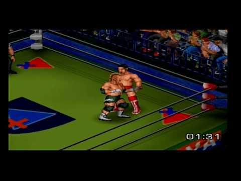 Fire Pro Wrestling Returns Bison Smith vs Akira Taue