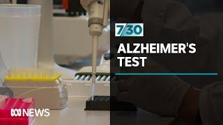 Major breakthrough in the early detection of Alzheimer's | 7.30