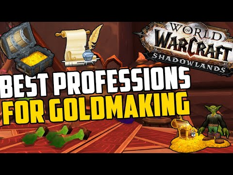 Choosing a Profession for Goldmaking in Shadowlands | Shadowlands Profession Guide