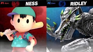 Super Smash Bros. Ultimate - Ness vs Ridley