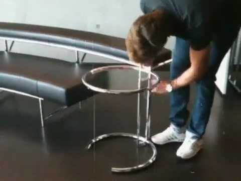Adjustable Table E 1027, Eileen Gray 1927   YouTube