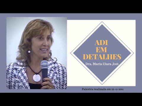 """Palestra """"A ADI em detahes"""" realizada por Maria Clara Jost em 22/11/2011"""