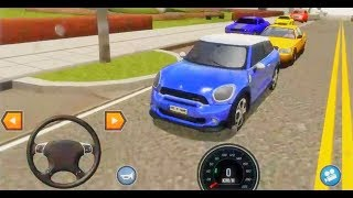 Car Driving School Simulator 2018 #2 BLUE CAR UNLOCKED Android Gameplay [FHD]
