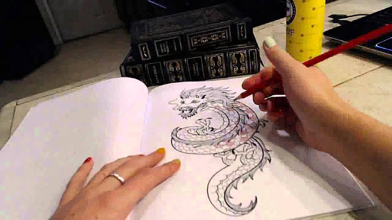 softly whispering and coloring dragons magical asmr youtube