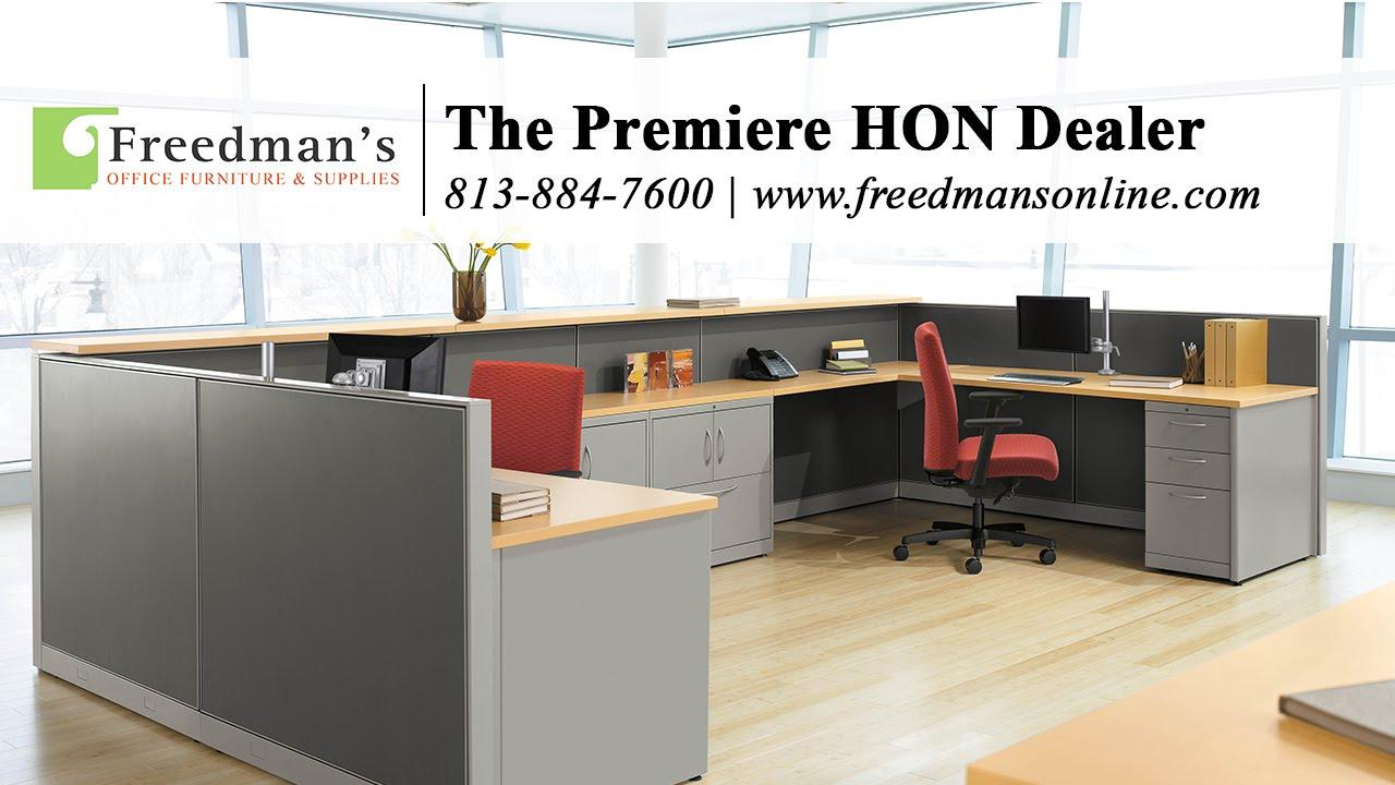 hon abound - freedman's office furniture - youtube