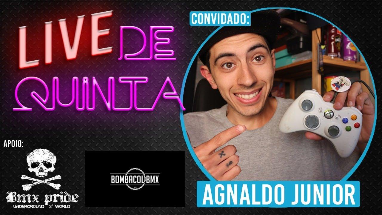 LIVE DE QUINTA   AGNALDO JUNIOR