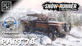 SNOWRUNNER CZ | Ford F750 v akci - #78 + Thrustmaster T150 PRO  | Lets play | Česky