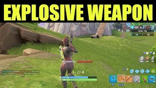 Explosive Weapon Eliminations - How to Get Explosive weapon Eliminations in Season 9 Fortnite