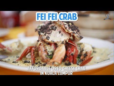 Fei Fei Crab: Affordable Oreo Cheese Crab in Kuala Lumpur