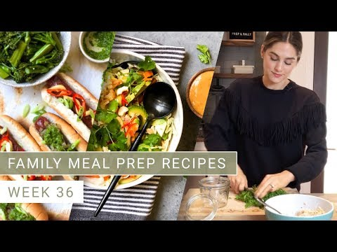 Meal Prep Family Meal Prep Recipes Week 36 Shavuot | Prep And Rally