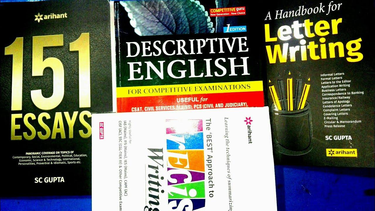 best book for descriptive english